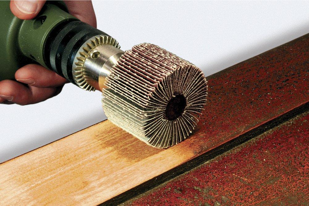 насадка на дрель для зачистки сварочных швов
