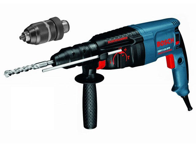 BOSCH Перфоратор SDS-plus GBH 2-26 DFR 800 Вт 2.7 Дж + БЗП BOSCH 0611254768